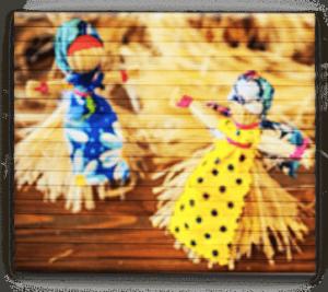 Мастер – класс Куклы – игрушки из Лыка