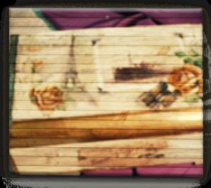 Декор деревянной шкатулки