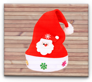 Декор новогодней шапочки