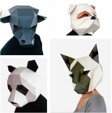 Полигональная маска